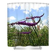 Wildflower Sky Shower Curtain