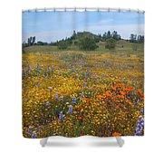 Wildflower Wonderland 8 Shower Curtain