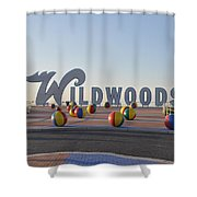 Wildwoods Shower Curtain