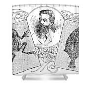 Wilhelm Konrad Roentgen, German Shower Curtain