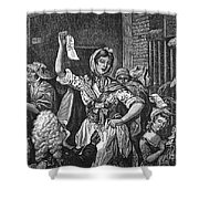Wilkes And Liberty Riots Shower Curtain