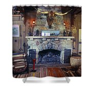 Will Rogers Home Shower Curtain