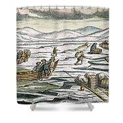 Willem Barents (c1550-1597) Shower Curtain