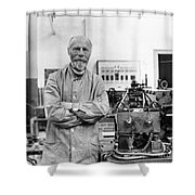 Willem Einthoven, Dutch Physiologist Shower Curtain
