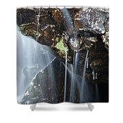Willey Brook - White Mountains New Hampshire  Shower Curtain