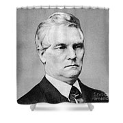 William A. Wheeler Shower Curtain by Photo Researchers