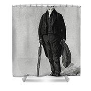 William Buckland, English Paleontologist Shower Curtain