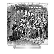 William Caxton (c1421-1491) Shower Curtain