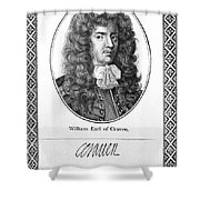 William Craven (1608-1697) Shower Curtain