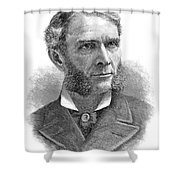 William D. Washburn Shower Curtain