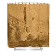 William Ellsworth Hoy Shower Curtain