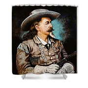 William F. Cody Shower Curtain