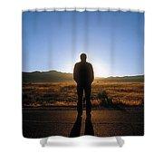 William Flocken Shower Curtain