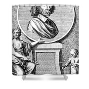 William Harvey, English Physician Shower Curtain