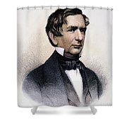 William Henry Seward Shower Curtain