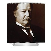 William Howard Taft - President Of The United States Shower Curtain by International  Images