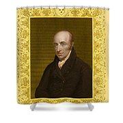 William Hyde Wollaston, English Chemist Shower Curtain