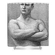 William Muldoon (1852-1933) Shower Curtain