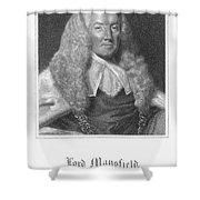William Murray (1705-1793) Shower Curtain