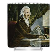 William Pitt (1759-1806) Shower Curtain