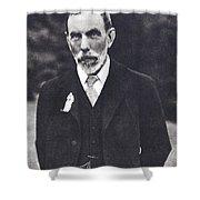 William Ramsay, Scottish Chemist Shower Curtain