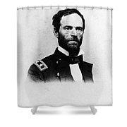 William Tecumseh Sherman, Union General Shower Curtain