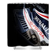 Williams F1 Shower Curtain