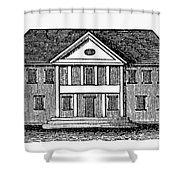 Williamsburg: Capitol Shower Curtain