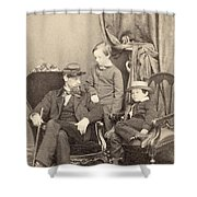Willie & Tad Lincoln, 1862 Shower Curtain
