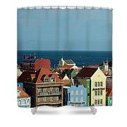 Williemstad Curacoa Shower Curtain