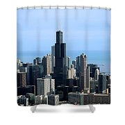 Willis Sears Tower 02 Chicago Shower Curtain
