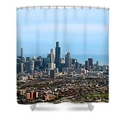 Willis Sears Tower 05 Chicago Shower Curtain
