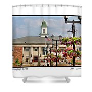 Willoughby City Hall Shower Curtain