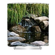 Willow Falls Shower Curtain