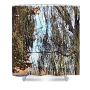 Willow Sailing Shower Curtain