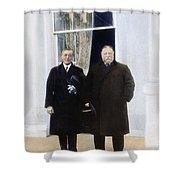 Wilson & Taft: White House Shower Curtain