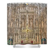 Winchester Cathedral High Altar Shower Curtain