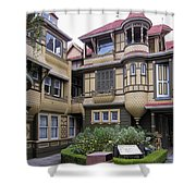 Winchester House - Door To Nowhere Shower Curtain