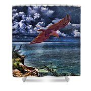 Wind Beneath My Wings Shower Curtain