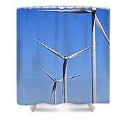 Wind Farm I Shower Curtain
