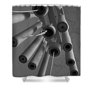 Windchime 2 Shower Curtain