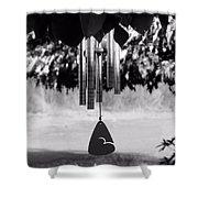 Windchimes Shower Curtain