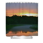 Winding Down  Shower Curtain