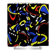 Winding Paths Shower Curtain