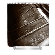 Winding Staircase Shower Curtain