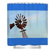Windmill-3667 Shower Curtain