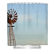 Windmill-3673 Shower Curtain