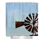 Windmill-3772 Shower Curtain