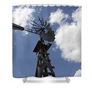 Windmill 4 Shower Curtain