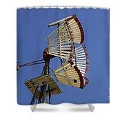 Windmill 8 Shower Curtain